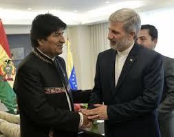 Image result for دیدار وزیر دفاع جمهوری اسلامی ایران با رئیس جمهور بولیوی