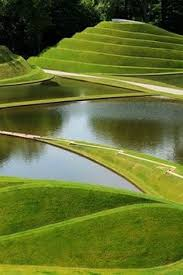 Small Picture The Garden of Cosmic Speculation is a 30 acre sculpture garden