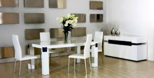 floor alluring white modern dining table set 7 impressive small 26 contemporary sets room for es