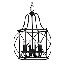sea gull lighting turbinio 22 25 in 6 light blacksmith country cottage cage chandelier