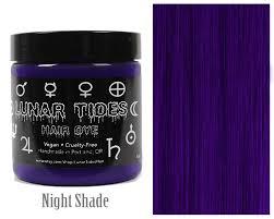 Dark Purple Hair Dye By Lunartideshair