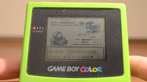 Batalha Pokemon Gameboy Color Youtube