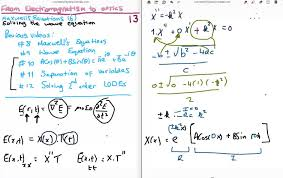 em to optics 13 solving the electromagnetic wave equation