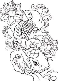 Small Picture Japanese Koi Coloring Pages GetColoringPagescom