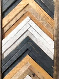 excited to share this item from my rustic wood wall art with chevron with natural white gray background