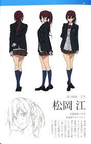 Kyoani Character Design Matsuoka Gou Free Mobile Wallpaper 1540540 Zerochan