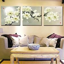 magnolia metal wall decor lovely art designs floral canvas 3 panel modern abstract home interior 29 on 3 panel wall art flowers with magnolia metal wall decor paddysfivemiler