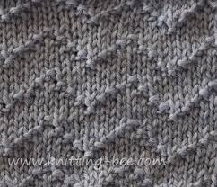 Chevron Knitting Pattern Amazing Chevron Zig Zag Lines Knitting Stitch ⋆ Knitting Bee