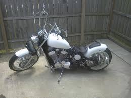 2003 honda shadow 600 vlxcustom hard tail bobber youtube
