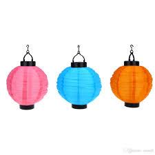10Chinese Lantern Solar Lights