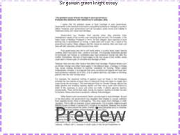 sir gawain green knight essay research paper academic writing  sir gawain green knight essay essay topics sir gawain and the green knight amore socially