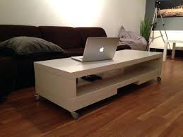coffe table lack side table on casters uk tv unit again coffee white with wheels small glass end tables ikea top furniture shelf er diy