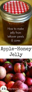 apple food. make delicious jelly with no added sugar or pectin, using only apple peels \u0026 cores food