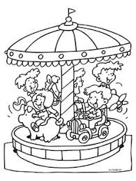 9 Best Thema Kermis Images Coloring Pages Colouring Pages Crayon Art