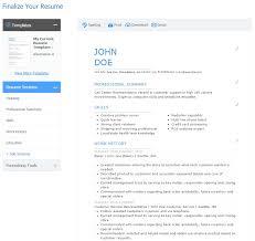 My Resume My Resume Top 10 Free Resume Builder Reviews Jobscan Blog