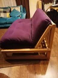 Futons sofa beds can be transformed from beds into sofas whenever you wish. The Futon Company Double Sofa Bed Purple Ultimate 3 Panel Futon Ebay