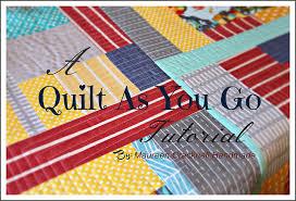 Maureen Cracknell Handmade: A Quilt As You Go Tutorial : : & A Quilt As You Go Tutorial Adamdwight.com