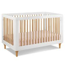 babyletto lolly in convertible crib in whitenatural free shipping