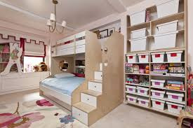 girls room playful bedroom furniture kids: this casa kids design features a twin over full bed design that is very