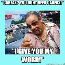 Working with a recruiter is like working with a used car salesman ... Working with a recruiter is like working with a used car salesman!