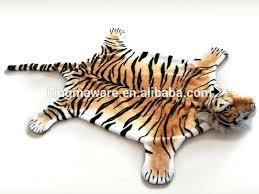 tiger carpet realistic plush tiger rug plush animal carpet plush tiger mat tiger carpet lovely tiger skin carpet