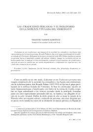 pdf las tradiciones peruanas y el