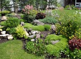 Simple Rock Garden Ideas For Small Gardens Full Size Front