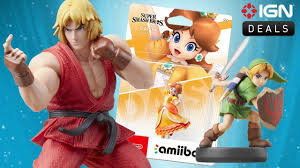 daily deals young link ken and daisy amiibo all available for preorder