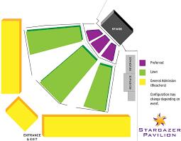 Stargazer Pavilion Seating Chart Cliff Castle Casino Hotel