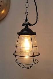 cage lighting pendants. Engine Room Hanging Light Cage Lighting Pendants