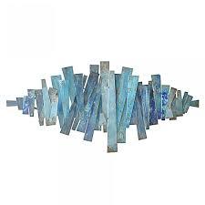 blue metal wall art 122 12213 wall