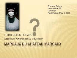 Final presentation Chateau Margaux
