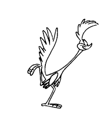 Small Picture Roadrunner is Missing Wile E Coyote Coloring Pages Batch Coloring