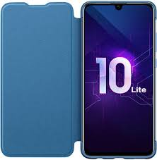 Купить <b>Huawei</b> Honor 10 Lite <b>чехол PU</b> Flip <b>Cover</b> Blue на сайте ...