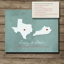 customized us state print gift i love you from here to love