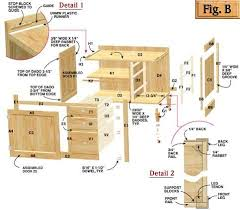 kitchen furniture plans. How To Build Kitchen Cabinets Free Plans Skillful Ideas 25 Cabinet Diy Furniture O