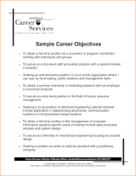 objective career objective for resume career objective for resume template