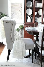 nailhead dining chairs dining room. Dining Chairs: Tribecca Home Flatiron Nailhead Upholstered Chairs Set Of 2 Benchwright Room