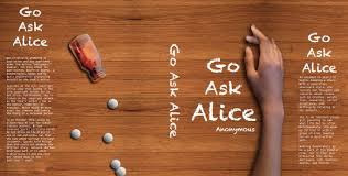 book cover go ask alice melissa liane  go ask alice book cover