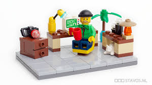lego home office. Simple Home Little Home Office  By Stavos Throughout Lego Home Office