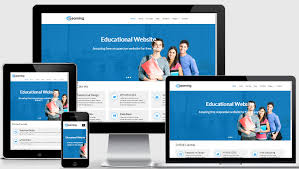 Free Responsive Website Templates Magnificent Free Educational Responsive Web Template ELearning