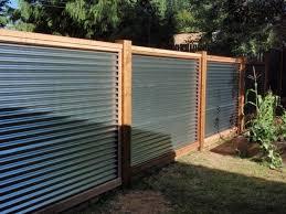 40 simple minimalis fence for huse design ideas home design corrugated metal fence panels