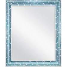 blue bathroom mirror google search