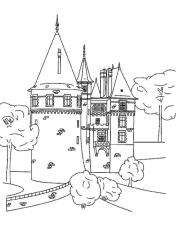 Disegni Di Castelli Da Colorare
