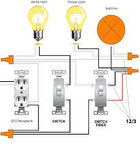 bathroom fan wiring diagram wiring diagram and schematic design to installing bathroom vent fans