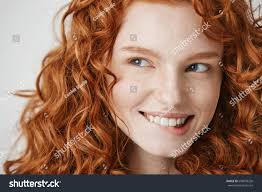 Red Hair Style close beautiful girl curly red hair stock photo 648999226 3941 by stevesalt.us