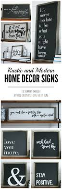 home decor wall signs beautiful rustic spring signs from the summery umbrella which offers r