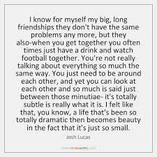 Long Friendships