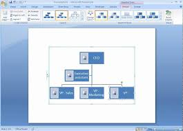 How To Do An Org Chart In Word Office 2007 Demo Create An Organization Chart With Pictures