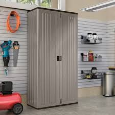 Metal storage cabinets with doors Mandra Tavern 80 Timetravellerco Garage Storage Cabinets Shelves Youll Love Wayfair